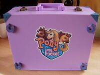 Pony in my Pocket complete Arena in Carry Case