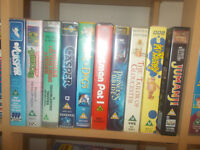 Assorted Childrens Video Tapes (inc. Disney)