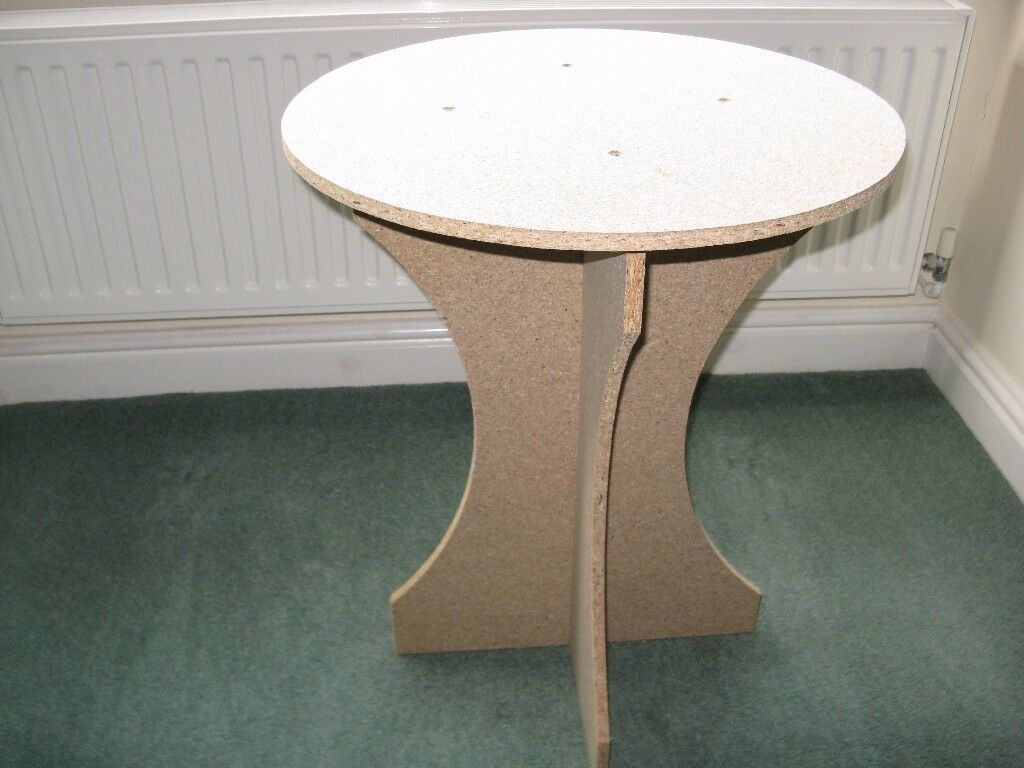 Christmas Tree Display Table - Self Assembly Chipboard