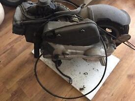 Vespa et4 engine forks panels seat and lights