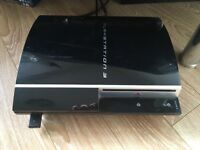 PS3 with control pad