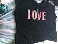 Brand new love top