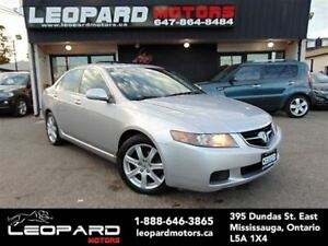 2005 Acura TSX Leather,Heated Seat,Sunroof,Alloy Wheel*Certified