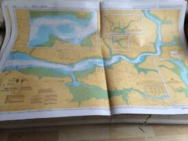 Admiralty Nautical Paper Charts