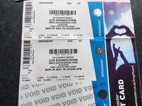 LCD Soundsystem tickets.