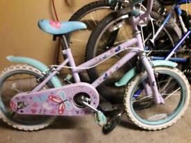 Girls bike age 4-6