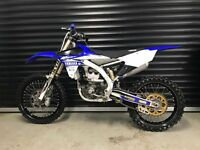 2017 YAMAHA YZ250F MOTOCROSS MX BIKE