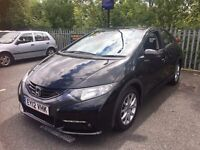 Honda Civic 1.8 i-VTEC ES 5dr Petrol Manual - Rev-Camera, Bluetooth, Low Mileage, FSH, 2 X Keys