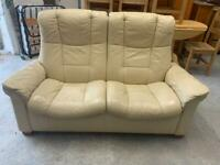 Cream stressless 2 seater sofa £120 free delivery