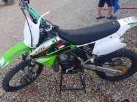 kawasaki kx 85 2012 big wheel