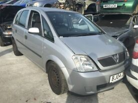VAUXHALL MERIVA ENJOY 8V 2004- FOR PARTS ONLY