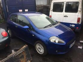 breaking for spares fiat punto 1.2 2006