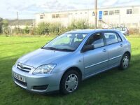Toyota Corolla 1.4 T2 VVT-i LOW MILEAGE - Manual 5 Door Hatchback in excellent condition