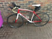 Specialized secteur entry level road bike with extras best on gumtree ready to commute bargain p