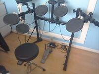 Roland TD-7 electronic drum kit.