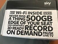 Sky + HD box from smoke and pet free home