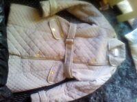 Ladies papaya coat