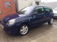 04 Renault Clio 1.2 Dynamique 3dr - MOT JUNE 18 - Alloys - Sunroof - Ideal 1st Car - PX WELCOME