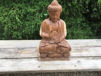 Solid Wood Buddha Hand Carved