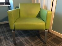 Hitch Mylius Lime green reception chair
