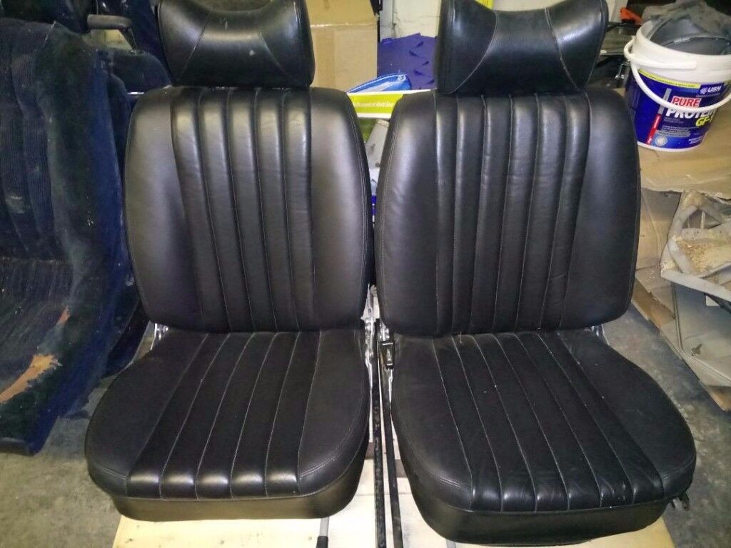 Mercedes SL/SLC R107 Leather seats. Near mint condition. Original factory leather.