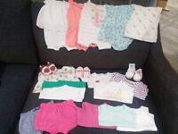 3-6 month girls summer bundle
