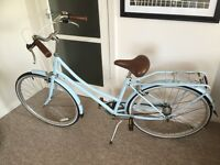 Bobbin Birdie Town Bike in Beautiful Baby Blue. Fashionable, Vintage Style Bicycle