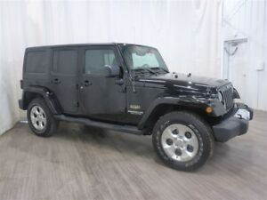 2015 Jeep WRANGLER UNLIMITED Sahara Compare to New @ $39,380!