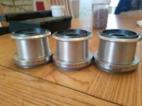 Shimano spools