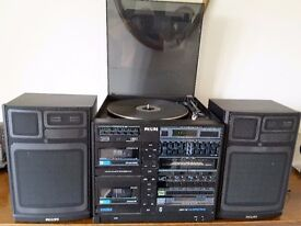 Philips FCD 762 Compact Disc Midi System with speakers