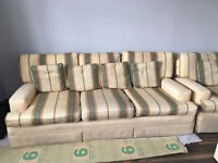 FREE TO ANY COLLECTOR - 3 Piece Sofa suite