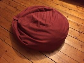 Red beanbag - Good condition