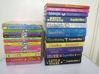 25 x Jacqueline Wilson books