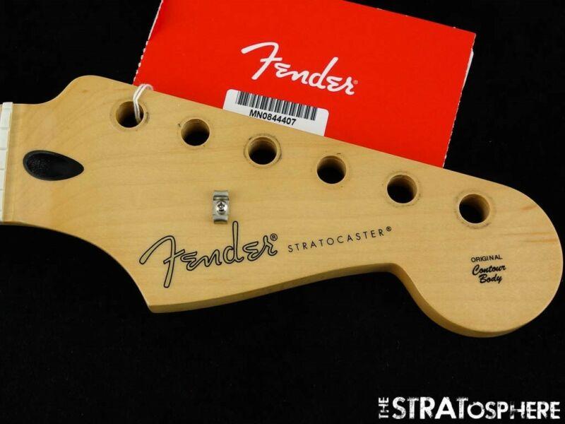 2020 Fender Player Stratocaster Strat NECK Modern C - Shape Guitar Maple.