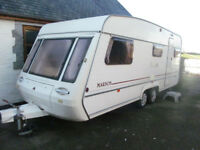 TWIN AXLE ABI MARDON 550/4 IN GOOD CONDITION WITH AWNING