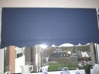 4 x Large Blue Blinds