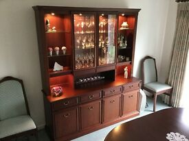 Quality Nathan Display Unit/Sideboard