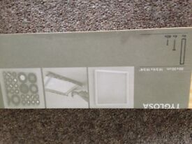 """Two IKEA TYGLOSA Wood Picture Art Frame 19.75""""X19.75"""""""