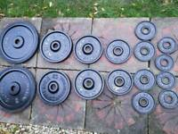 115 kg olympic cast iron weights