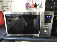 Sharp 32l stainless steel microwave
