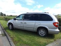 CHRYSLER GRAND VOYAGER CRD LIMITED 7 SEATER