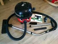 RESERVED Numatic HVR200A Henry A1 Bagged Cylinder Vacuum Cleaner, Red/Black (Used in good condition)