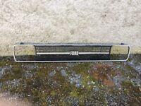 Radiator grill