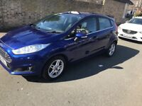 FORD FIESTA ZETEC 5 DOOR HATCHBACK 63 REG ONLY 29000 MILES WITH 2 KEYS AND FULL SERVICE HISTORY