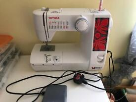 Toyota Quiltmaster Sewing Machine