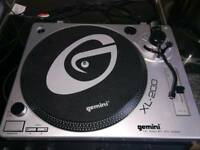 Gemini xl 200 record deck turntable dj