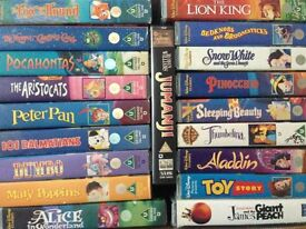 Box of 19 Children's videos - free to collect