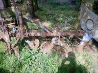 2 furrow Begg plough