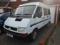 1995 renault traffic camper/day van