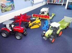 Toy tractors Bruder